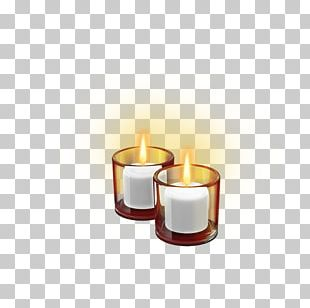 Birthday Cake Soy Candle PNG