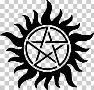 Dean Winchester Sam Winchester Castiel Logo Television Show PNG
