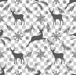 Gray Christmas Element Background PNG