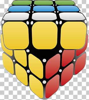 Rubiks Cube 3D Computer Graphics PNG