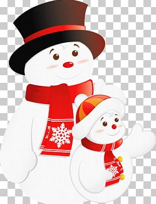 Santa Claus Christmas Snowman PNG