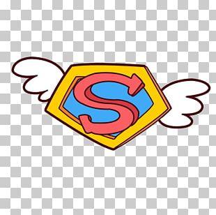 Superman Logo Clark Kent Cartoon PNG