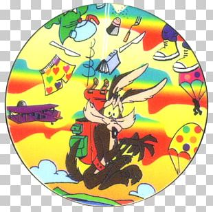 Milk Caps Wile E. Coyote And The Road Runner Cartoon Flippo's Kid's Playground And Cafe PNG
