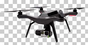 3D Robotics Unmanned Aerial Vehicle GoPro Quadcopter PX4 Autopilot PNG
