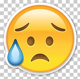 Emoji Smiley Sadness Emoticon PNG