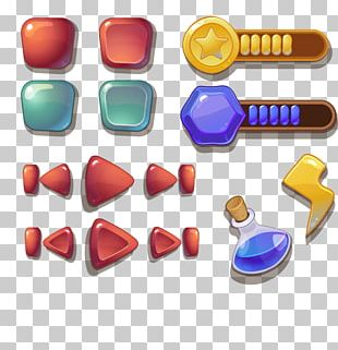 User Interface Design Game Button Interaction Design PNG
