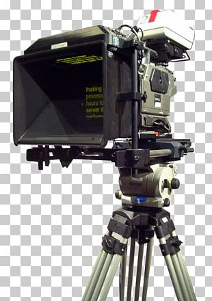 Teleprompter Tripod Video Cameras Television PNG