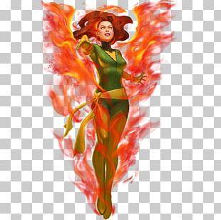 Jean Grey Professor X Rogue X-Men Marvel Comics PNG