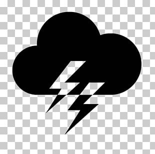Computer Icons Lightning Cloud Thunder PNG