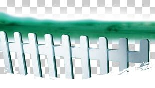 Picket Fence Lawn White PNG