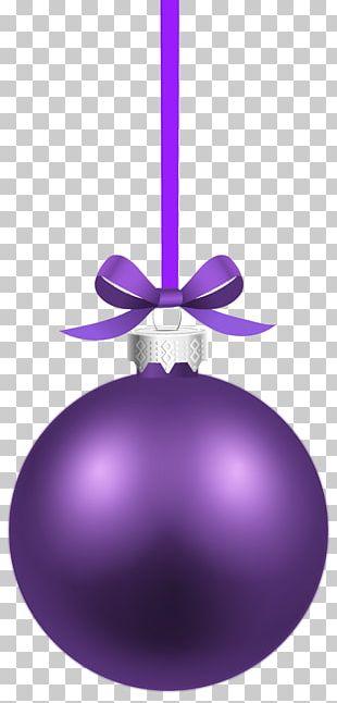 Christmas Ornament Purple Christmas Decoration PNG