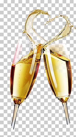 Champagne Glass Wine Glass Cup PNG