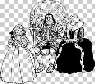 Middle Ages Queen Regnant King Knight PNG