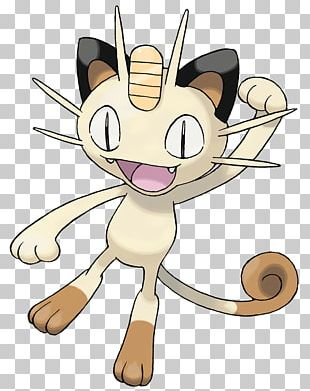 Meowth Pokemon PNG