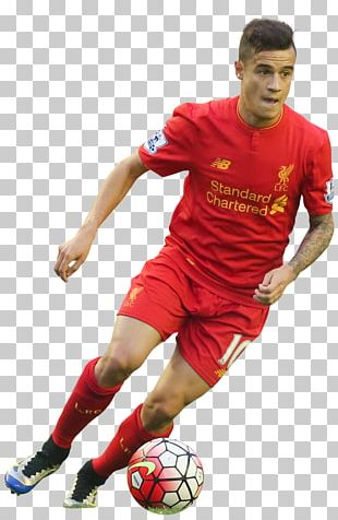 Philippe Coutinho Liverpool F.C. Jersey Football Player PNG