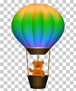 Hot Air Ballooning Wind Guestbook PNG