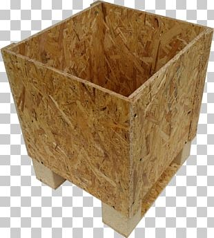 Plywood Lumber Oriented Strand Board Box PNG