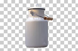 Milk Can Wooden Handle PNG