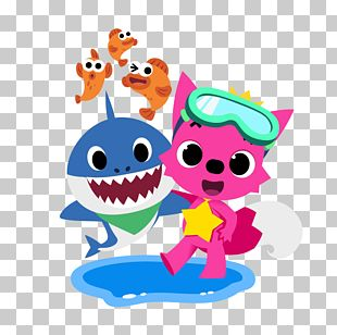 Pinkfong Baby Shark Song PNG
