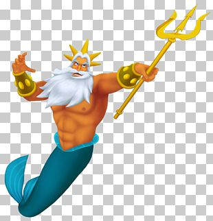 King Triton's Carousel Of The Sea Ariel The Little Mermaid The Prince PNG