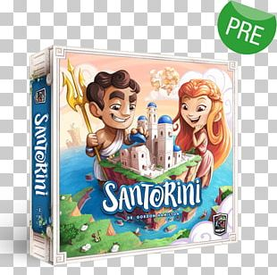 Roxley Game Laboratory Santorini Board Game Strategy Game PNG