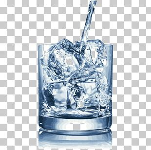 Cups And Ice Cubes PNG