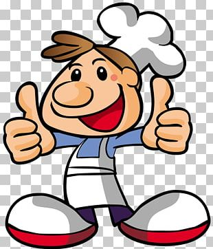 Pizza Chef Cooking Cartoon PNG