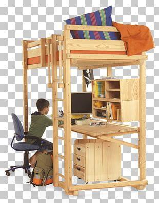 Bunk Bed Furniture Woodland Child PNG
