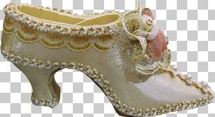 Shoe High-heeled Footwear Bride Button PNG