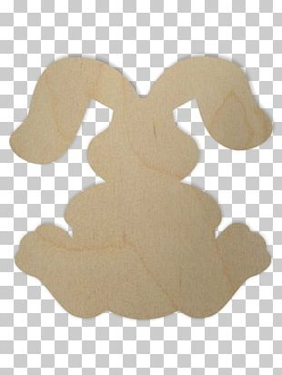 Easter Bunny Rabbit Shape Ear New England Cottontail PNG