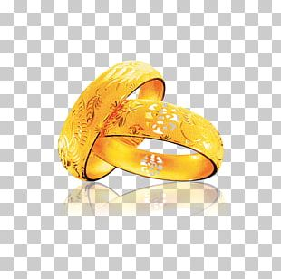 Gold Wedding Ring PNG