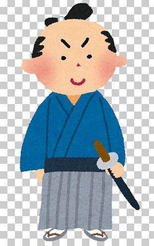 Japan Samurai Edo Period Person PNG