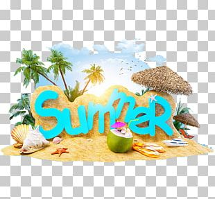 Summer Vacation Beach Holiday Summer 4 Two PNG