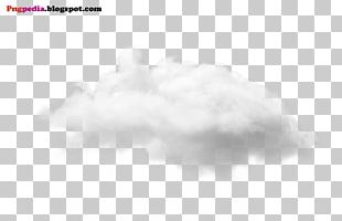 Black And White Sky Cloud Pattern PNG