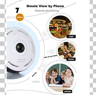 IP Camera Closed-circuit Television Wireless Security Camera Fisheye Lens PNG