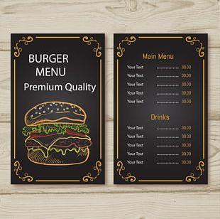 Menu Printing Graphic Design Restaurant PNG