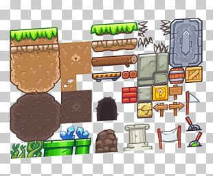 Tile-based Video Game Platform Game Sprite Level PNG