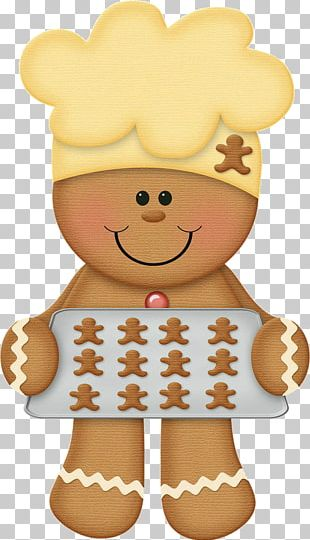 Ginger Snap The Gingerbread Man Christmas Graphics PNG
