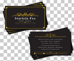 Business Card Design Business Cards Psychic Visiting Card PNG