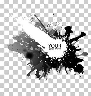 Ink Shading Background PNG