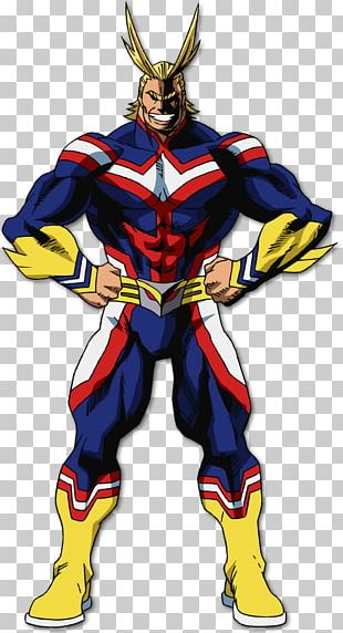 All Might Cosplay Costume My Hero Academia Clothing PNG