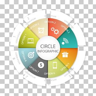 Euclidean Circle Infographic PNG