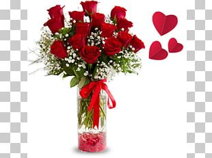 Floristry Flower Bouquet Rose Red PNG