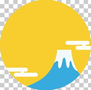 Kagami Mochi Arrangements Japanese New Year Illustration Mount Fuji Kadomatsu PNG