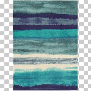 Carpet Blue Teal Mat Floor PNG