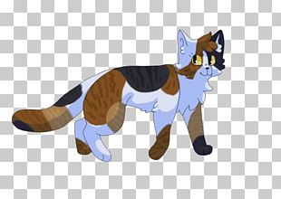 Cat Red Fox Tail Animal Animated Cartoon PNG