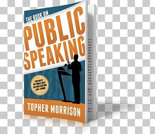Public Speaking Product Design Book Brand PNG