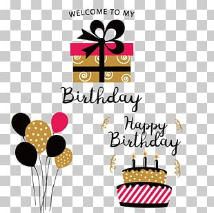 Birthday Paper Party Gift Gratis PNG
