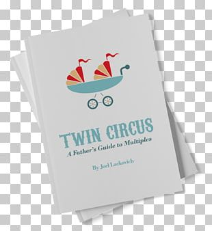 Twin Circus: A Father's Guide To Multiples Mockup Book Logo PNG