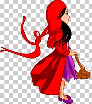 Little Red Riding Hood Big Bad Wolf Goldilocks And The Three Bears PNG